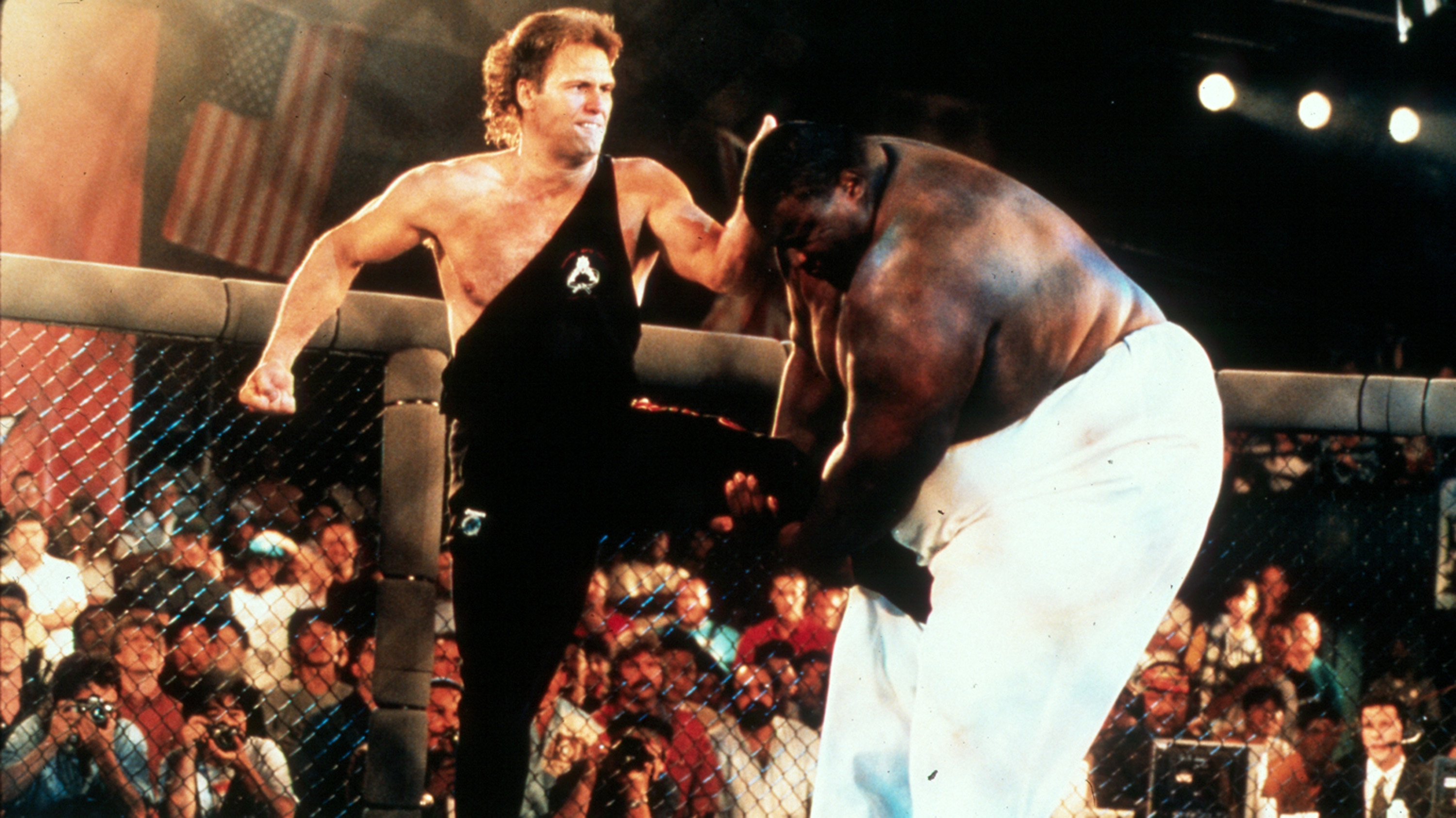 Size didn't matter as Hackney upset 600-pound Yarborough (Photo credit: UFC Archives)