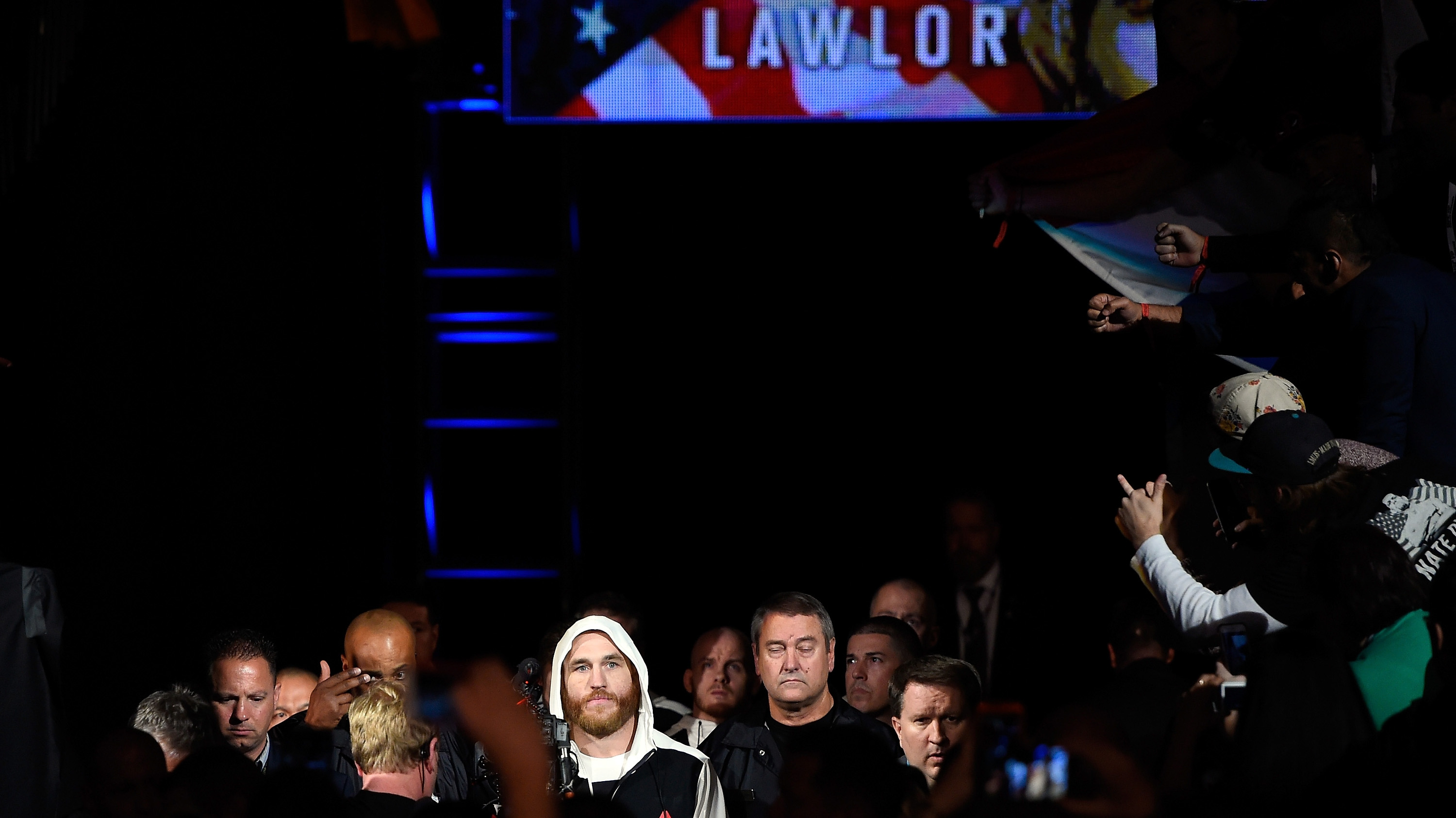 Lawlor's early walkouts provided quite the entertainment (Photo by Josh Hedges/Zuffa LLC/Zuffa LLC via Getty Images)