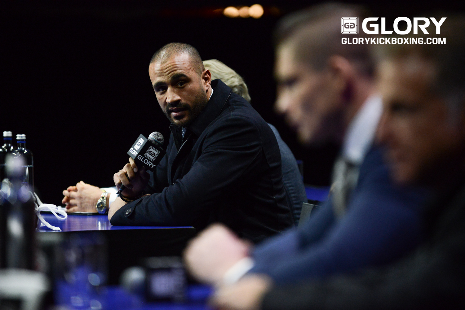 Badr Hari (Photo Credit: James Law Photography/GLORY)