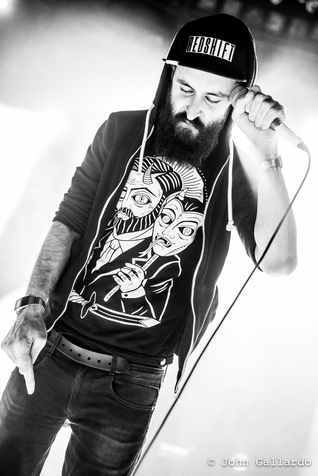 Scroobius Pip. Photo by: John Gallardo