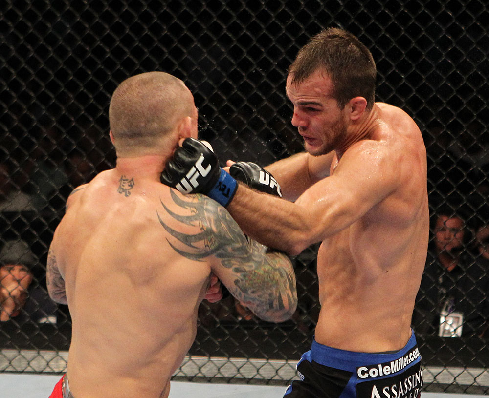 Cole Miller vs Ross Pearson