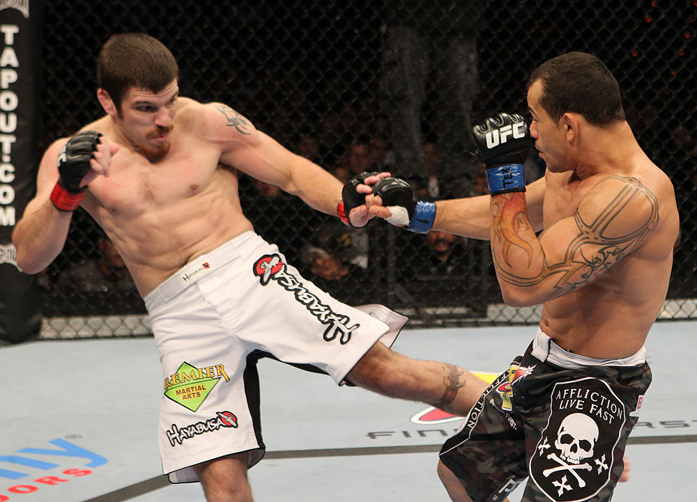 Jim Miller vs Gleison Tibau
