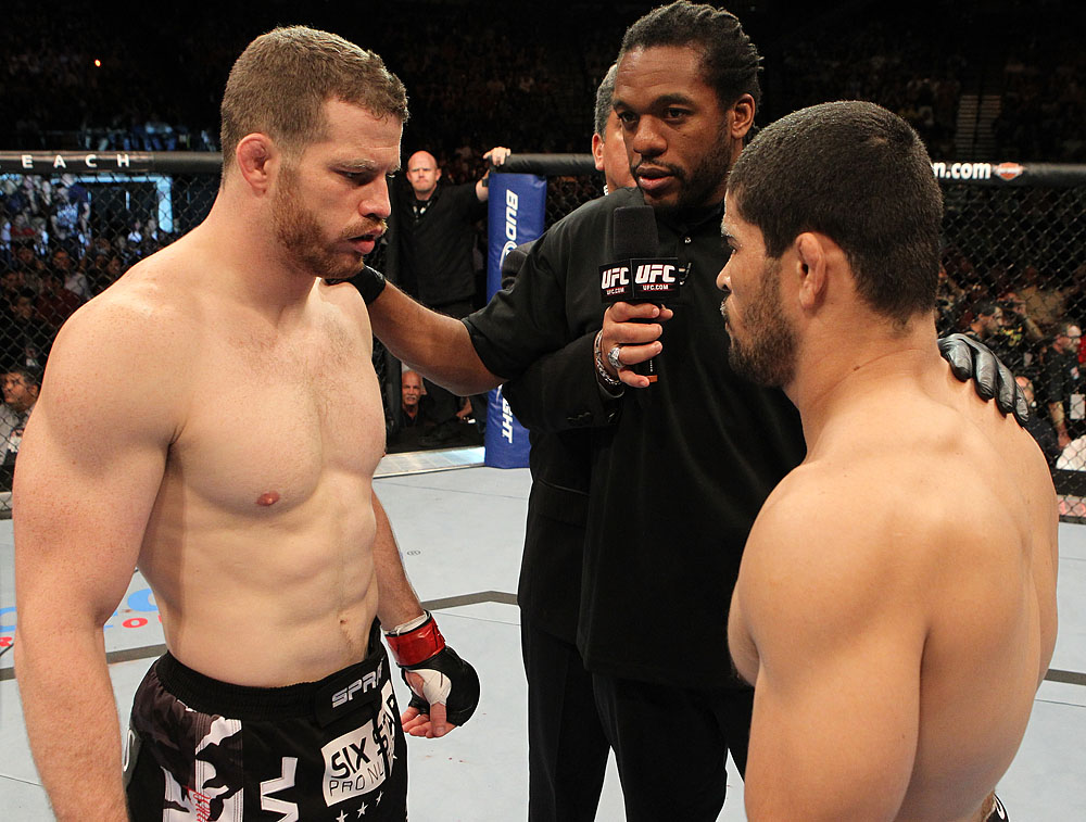 Nate Marquardt vs Rousimar Palhares