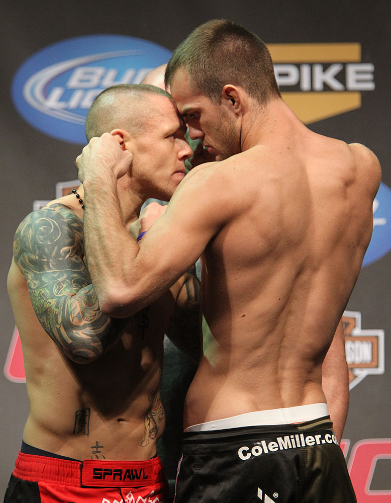 Ross Pearson &amp; Cole Miller