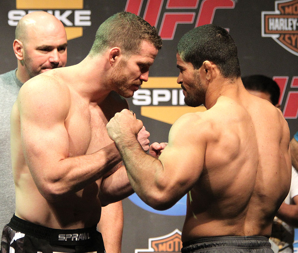 Nate Marquardt &amp; Rousimar Palhares