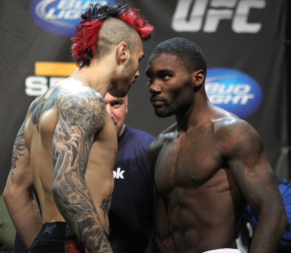 Dan Hardy & Anthony Johnson