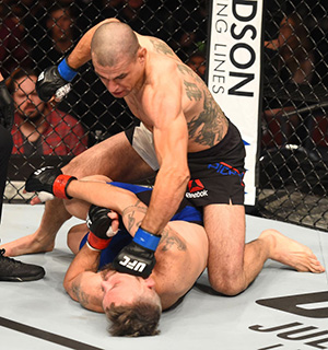 "Pichel punches <a href='../fighter/damien-brown'></noscript>Damien Brown</a> during the <a href='../event/UFC-Silva-vs-Irvin'>UFC Fight Night </a>event on June 11, 2017 in Auckland, NZ. (Photo by Josh Hedges/Zuffa LLC)&#8221; align=&#8221;left&#8221;/>""I'm the type of person that will keep quiet and do my thing, and I'll let my work talk for me,"" he said. ""In the back of my head, I know if I talk about it, it will get me more notoriety, but I'm just not that way.""</p> <p>Pichel's fists are loud enough to speak volumes, and while being sidelined for three years did add to the longevity of his streak, when he came back last June and knocked out Damien Brown in less than four minutes to win his third straight bout, it's evident that if he was active in 2015 and 2016, there's no reason why he couldn't have kept the wins rolling.</p> <p>But oh, what a Hollywood ending to his first fight back.</p> <p>""It was, to a tee, honestly,"" said the Simi Valley product. ""I'd been out a long time and it felt good to be back, and to end the fight the way I did, it was an extra bonus, like the cherry on top. It was all amazing. It feels good to be back again.""</p> <p><span class="