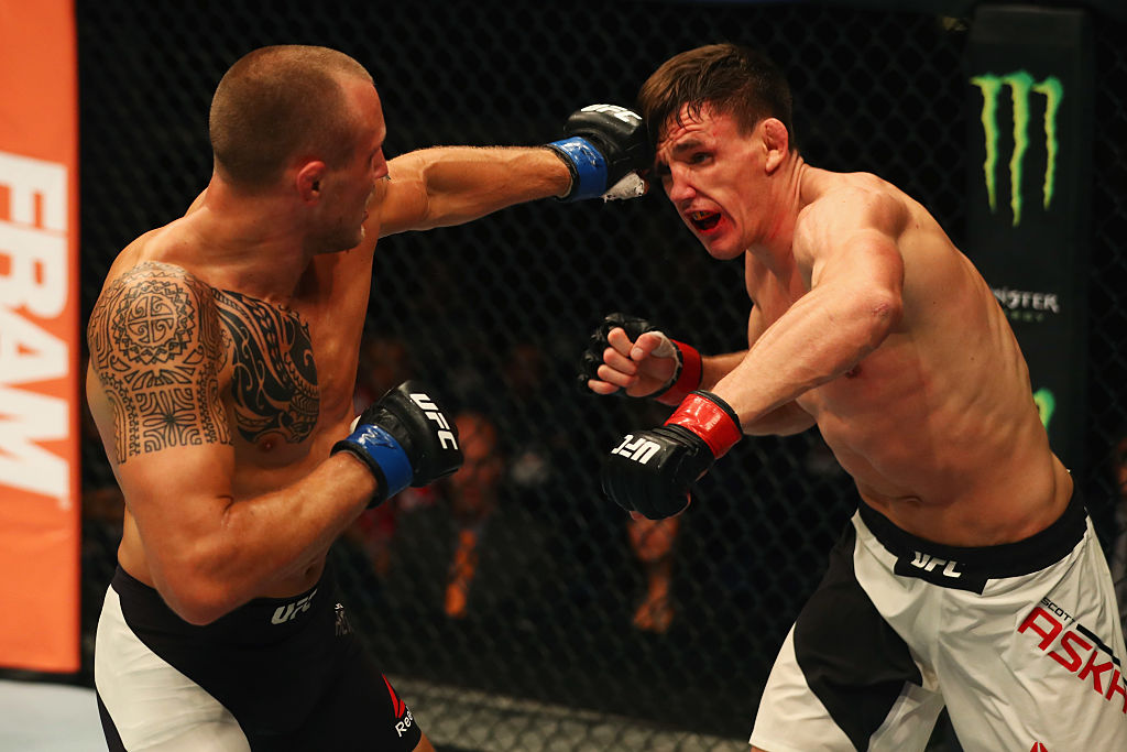 ultimate fighting championship results
