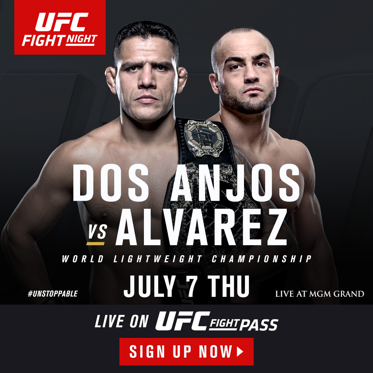 Don't miss out. Join UFC FIGHT PASS now.