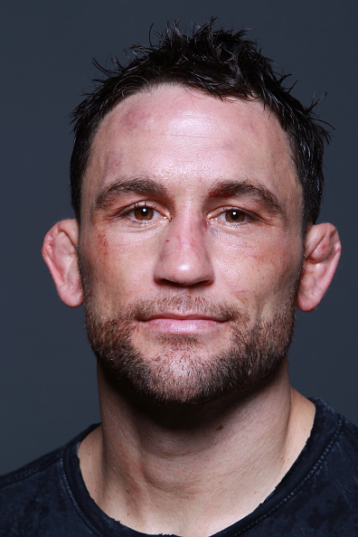 AUSTIN, TX - NOVEMBER 22:  Frankie Edgar poses for a portrait backstage after his submission victory over Cub Swanson during the UFC Fight Night event at The Frank Erwin Center on November 22, 2014 in Austin, Texas.  (Photo by Mike Roach/Zuffa LLC/Zuffa LLC via Getty Images)