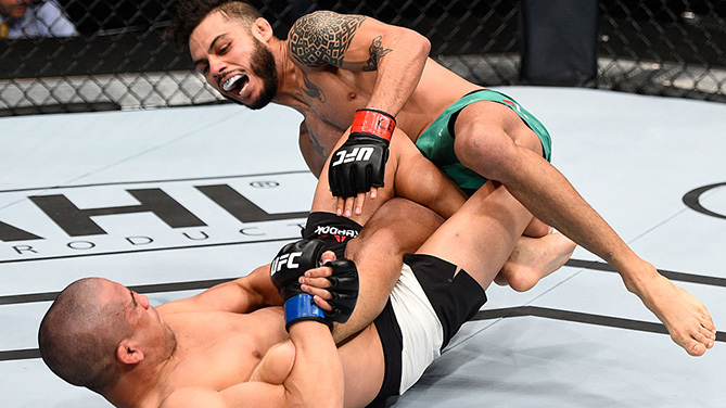 Joe Soto's heel hook submission was the UFC's first since December of 2014