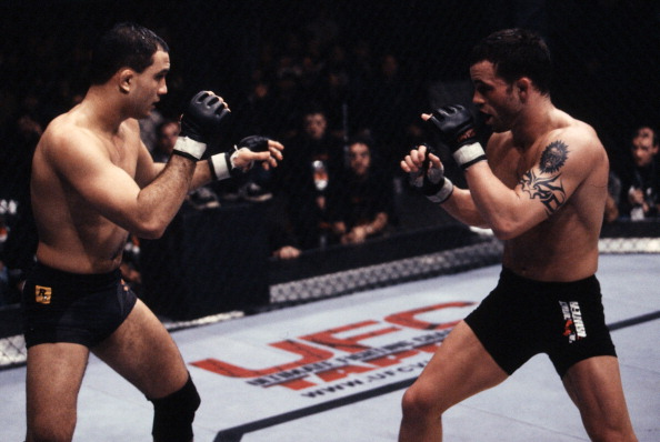 Jens Pulver and BJ Penn battle at UFC 35 in 2002