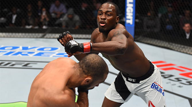 Michael Johnson KOs Poirier at UFC Fight Night