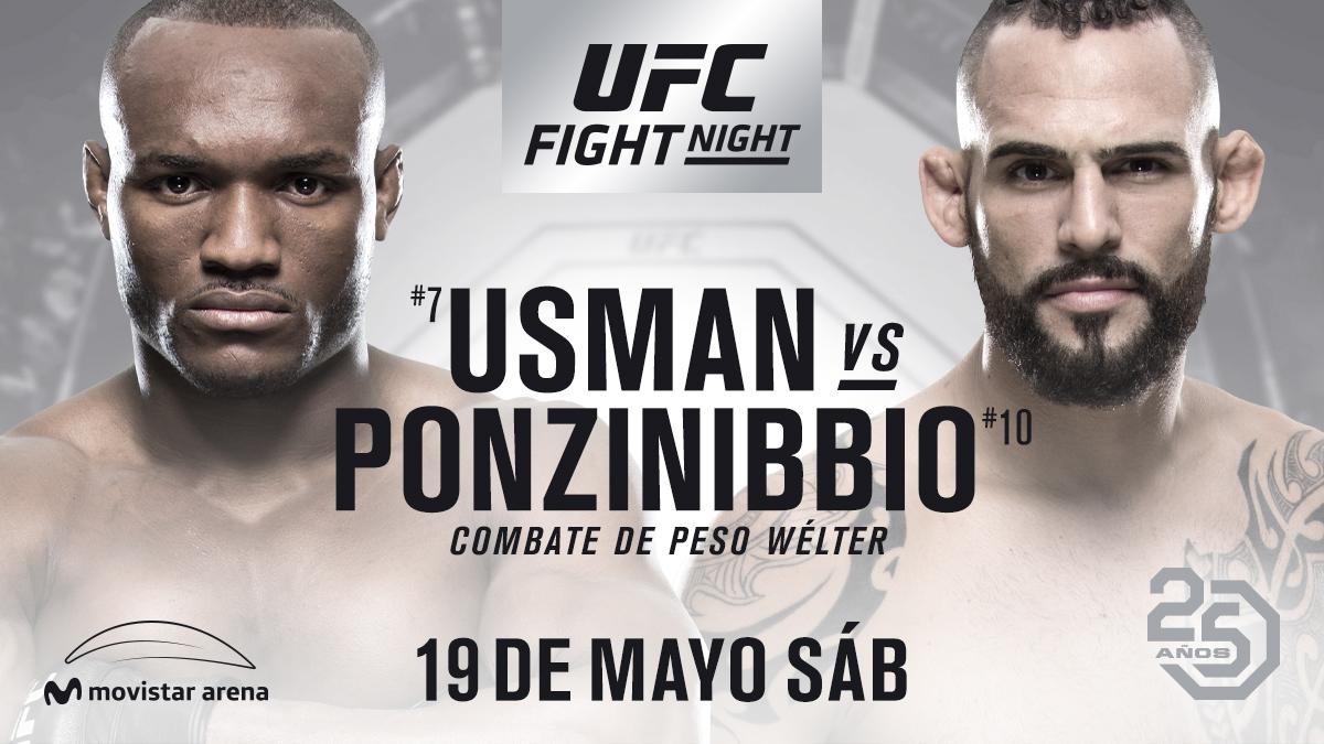Resultado de imagen para ufc  Usman vs Ponzinibbio
