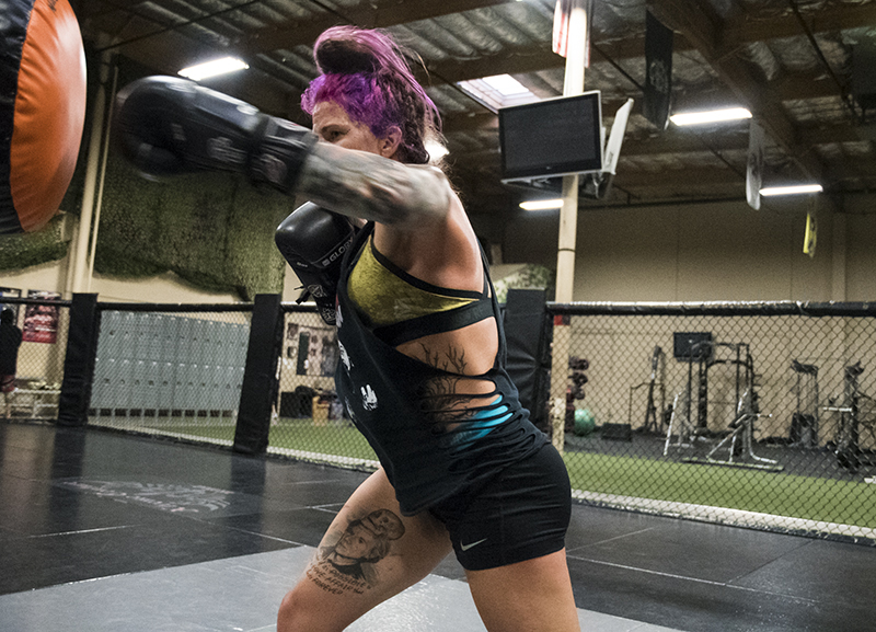 Gina Mazany will face Chinese newcomer Yanan Wu in the preliminary card of UFC Shanghai live Nov. 25 only on UFC FIGHT PASS. (Photo by Juan Cardenas/UFC.com)