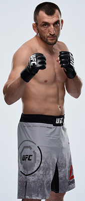 <a href='../fighter/Muslim-Salikhov'>Muslim Salikhov</a> (Photo by Mike Roach/Zuffa LLC)