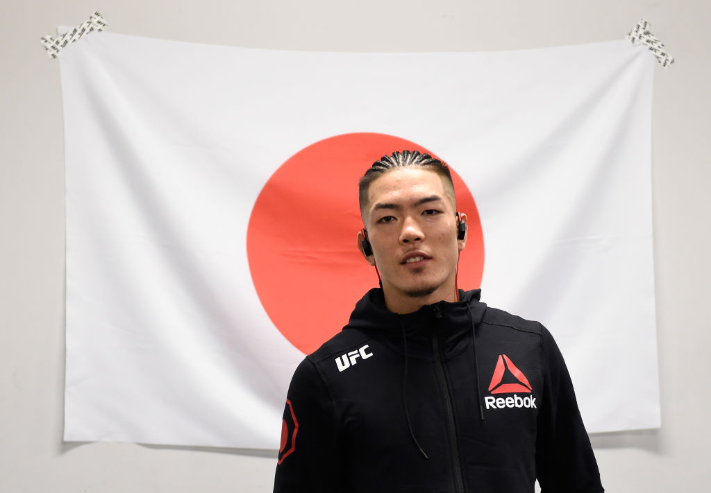 Teruto Ishihara of Japan  (Photo by Mike Roach/Zuffa LLC)