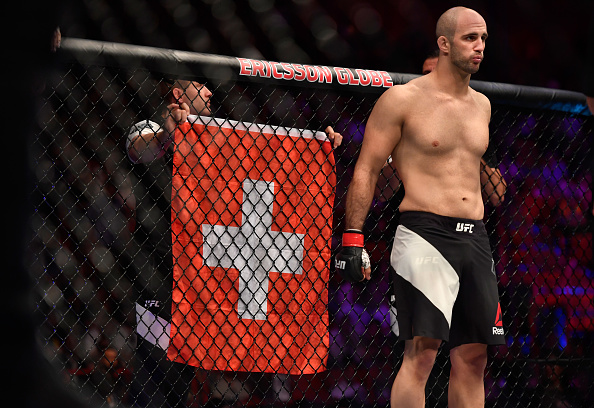 Volkan Oezdemir at UFC Fight Night on May 28, 2017 in Stockholm, Sweden. (Photo by Jeff Bottari/Zuffa LLC)