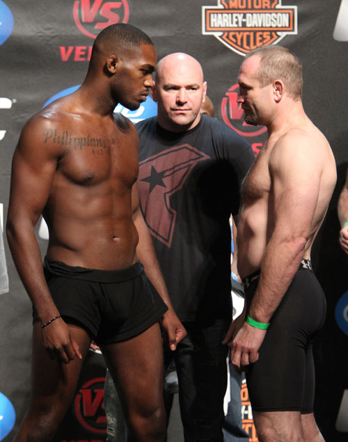 Jon Jones &amp; Vladimir Matyushenko