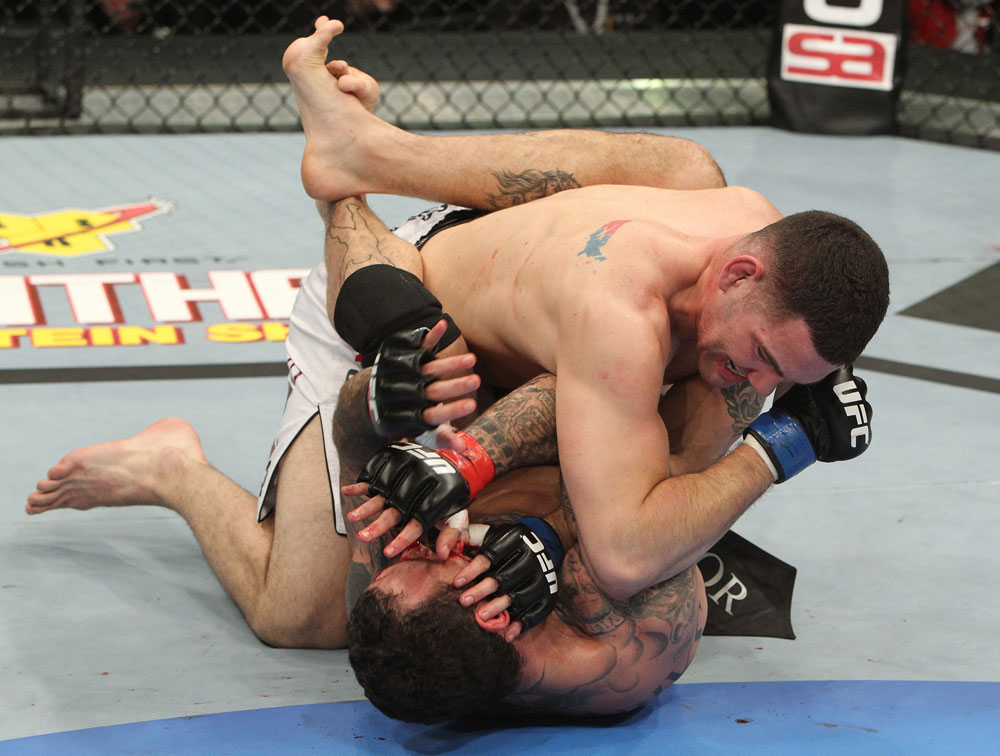 Chris Weidman vs Alessio Sakara