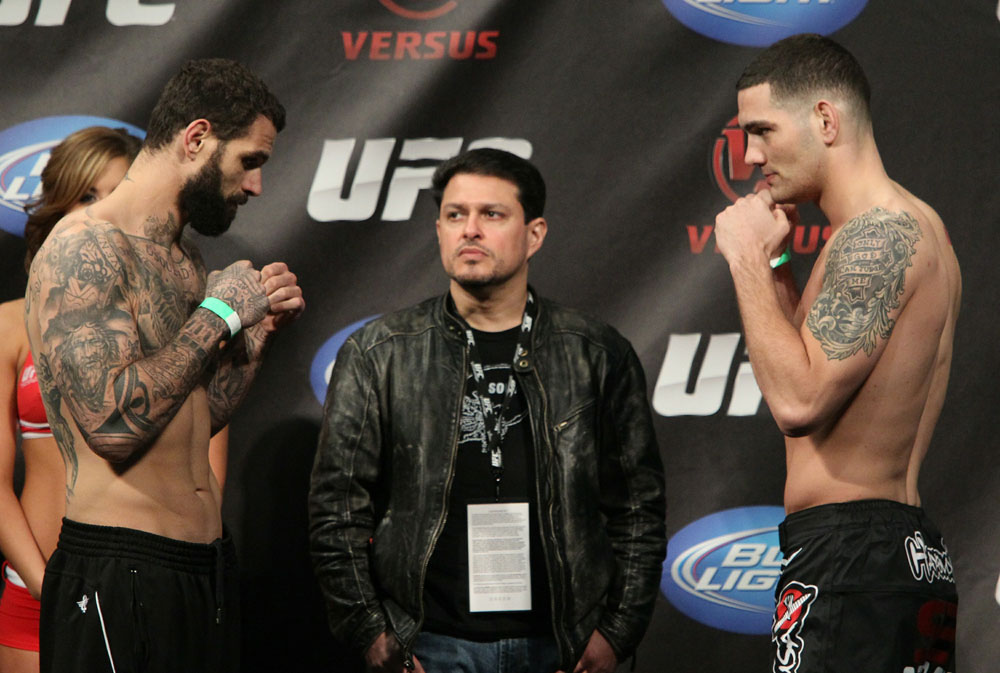 Alessio Sakara &amp; Chris Weidman