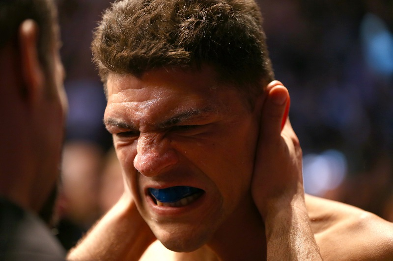 Nick Diaz Is Back In The UFC; Eyes 2015 Return