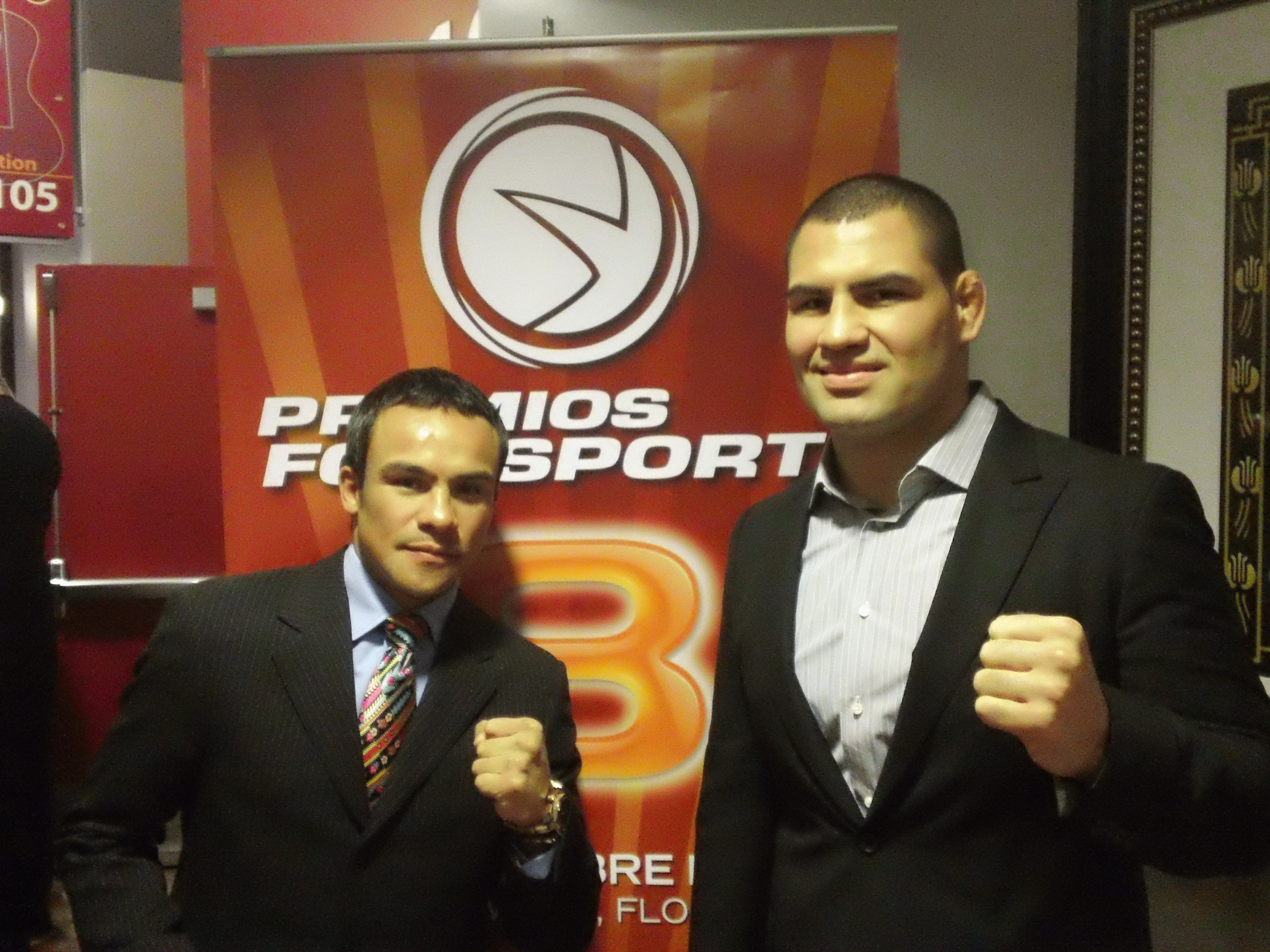 Cain Velasquez y Juan Manuel Marquez