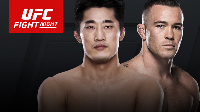 <a href='../fighter/Colby-Covington'>Colby Covington</a> will take on <a href='../fighter/Dong-Hyun-Kim'><a href='../fighter/dong-hyun-the-mestro-kim'>Dong Hyun Kim</a></a> on June 17 at Fight Night Singapore
