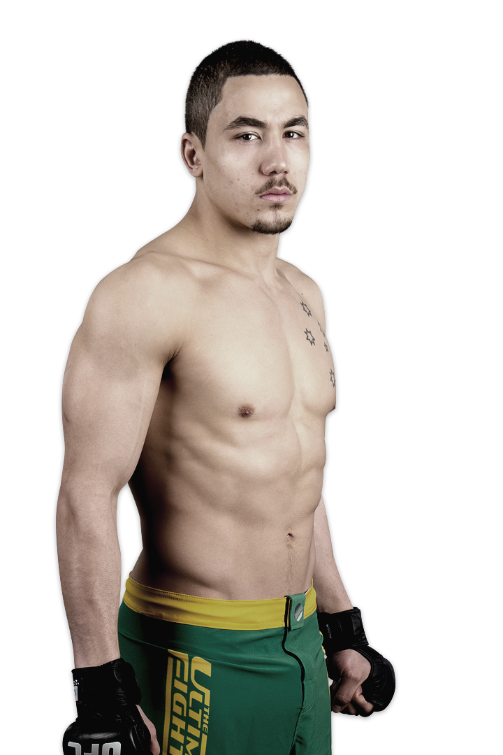 TUF Smashes finalist Robert Whittaker
