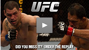 See highlights from UFC 110