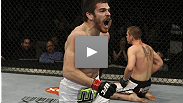 Jim Miller wants to cut the fight short but Mark Bocek's prepared to go the distance