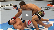 Rousimar Palhares pulls off a speedy submission over the Gorilla