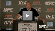 Dana White at post-fight PC: Praise for Edgar and Johnson; strong words for Silva