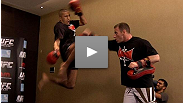 See UFC 112 lightweight Terry Etim work out