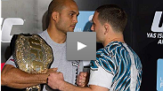 BJ Penn and Frankie Edgar are honored to fight one another this weekend