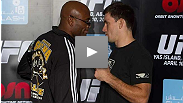 Demian Maia and Anderson Silva speak at pre-fight press conference