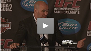 Dana White has high praise for the UFC 113 card from top to bottom