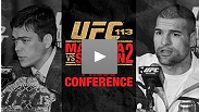 Watch the UFC 113 pre-fight press conference