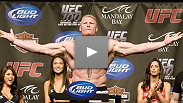 Brock Lesnar returns at UFC 116