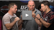 UFC 117 presser: Former UFC welterweight champion Matt Hughes and Ricardo Almeida on their under-the-radar bout and why it's nothing personal.