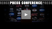 Jon Fitch and Junior Dos Santos speak at post-fight presser about the 15-minute wars at UFC 117 that earned them title shots.