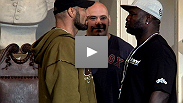 Hear from MMA legend Randy Couture and the always-entertaining James Toney at the UFC 118 pre-fight press conference.
