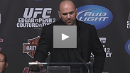 Dana White talks about his Boston experience and the UFC 118 card at the post-fight press conference.