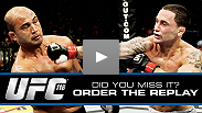 Miss UFC 118? Watch the thrilling card from the sold-out TD Garden in Boston, Massachusetts featuring Frankie Edgar, Randy Couture, Nate Diaz and many more fighters.
