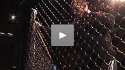 The stars of UFC 118 step inside the Octagon in Boston for the first time.
