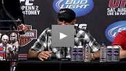 Randy Couture talks about the pitch-perfect game plan and the external pressure leading up to his UFC 118 victory over boxing vet James Toney.