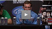 Post-fight press conference: Hear from lightweight Gray Maynard and welterweight Nate Diaz after their important wins at UFC 118.