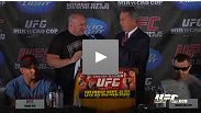 UFC 119 pre-fight press conference with Dana White, Frank Mir, Mirko Cro Cop, Chris Lytle, Matt Serra, Ryan Bader and Antonio Rogerio Nogueira at the Old National Centre in Indianapolis.