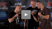 Matt Serra and Chris Lytle entertain the media and the fans at UFC 119 Pre Fight Press Conference.