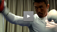 UFC 120 stars Bisping, Akiyama, Hardy, Hathaway and Pyle show off their moves at open workouts in London.